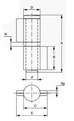 Opritor porti batante ingropat FAAC 150.90
