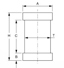 Pivot pentru balama reglabila FAAC 247.18
