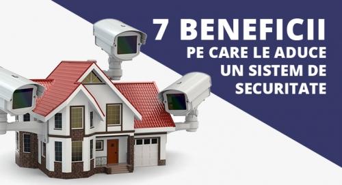 7 beneficii pe care le aduce un sistem de securitate
