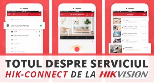Totul despre serviciul HIK-CONNECT de la Hikvision