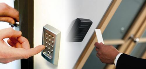 Componentele sistemului de control acces