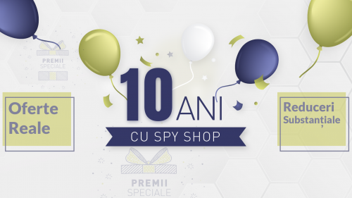 Spy Shop aniverseaza 10 ani