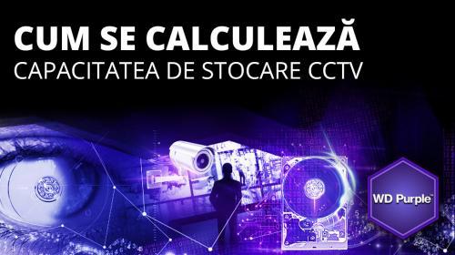 Cum se calculeaza capacitatea de stocare a unui sistem CCTV
