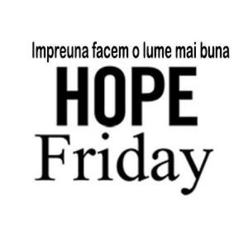 Spy Shop de Hope Friday - Impreuna facem o lume mai buna