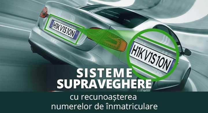 Solutii complete de recunoastere a numerelor de inmatriculare de la Hikvision