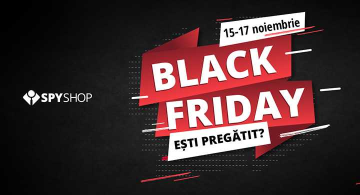 Black Friday la Spy Shop