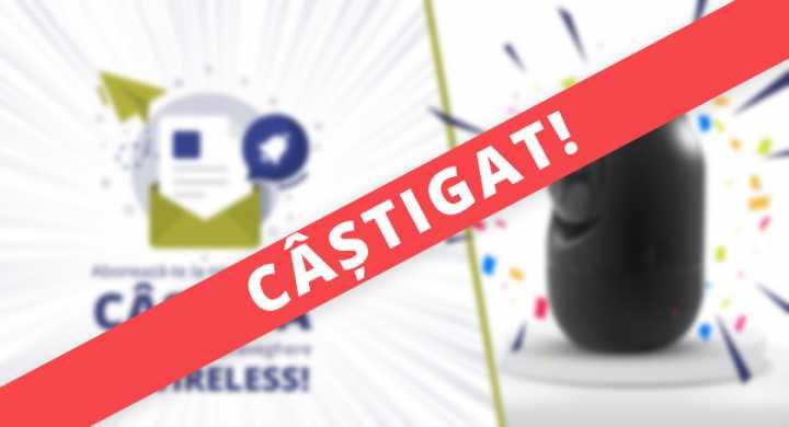 Castigatori concurs camera wireless - decembrie 2018