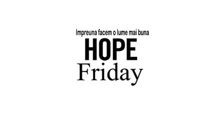 Spy Shop de Hope Friday - Impreuna facem o lume mai buna