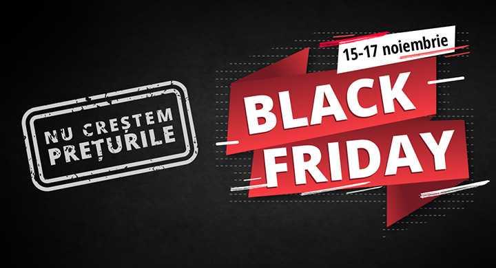 Nu crestem preturi inainte de Black Friday!