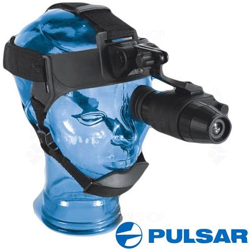 Monocular Night Vision Pulsar Scope Challenger G2+ 1x21 Head Mount Kit 74091