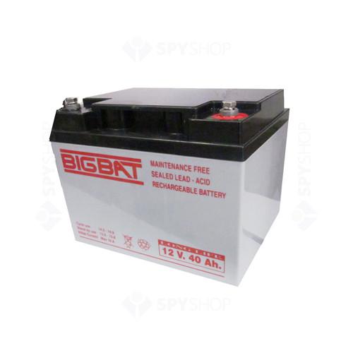Acumulator compact acid-Pb 12V si 40Ah Elan EL-12-40