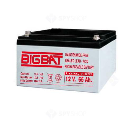 Acumulator compact acid-Pb 12V si 65Ah Elan EL-12-100