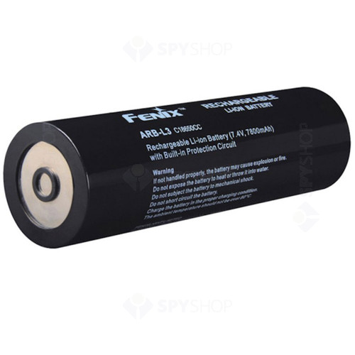 Acumulator pentru lanterna RC40 Fenix ARB-L3, 7800mAh