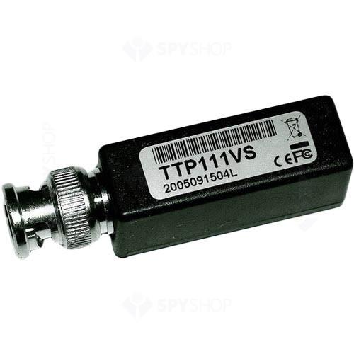 Adaptor pasiv BNC tata la RJ-45 mama TTP111V