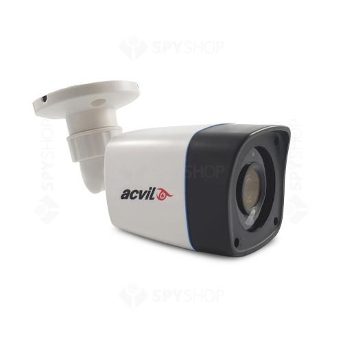 Sistem supraveghere exterior complet Acvil C4EXT20-2MP, 4 camere, 2 MP, IR 20 m