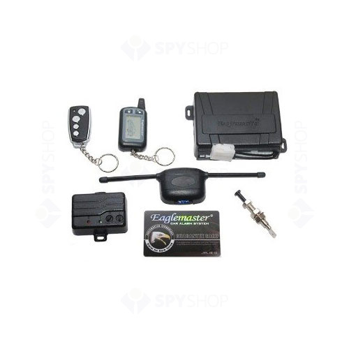 Alarma auto cu pager Eaglemaster CL7000