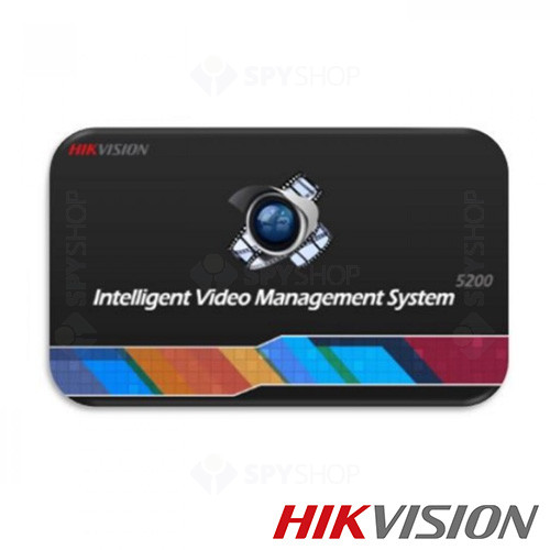 Aplicatie vizualizare inregistrari pentru camere LPR Hikvision IP iVMS-5200-P-VS-P16
