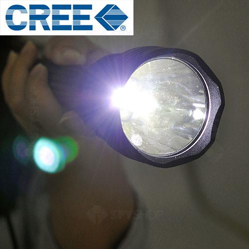 Lanterna profesionala seria cree - 1200 lumeni