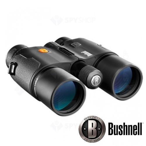 Binoclu Bushnell cu telemetru Fusion 1 mile arc 10X42