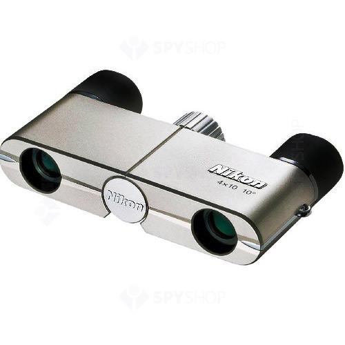 Binoclu Nikon 4x10 DCF Champagne BAA751AA
