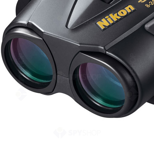 Binoclu Nikon Eagleview zoom 8-24X25 CF Negru BAA690AA