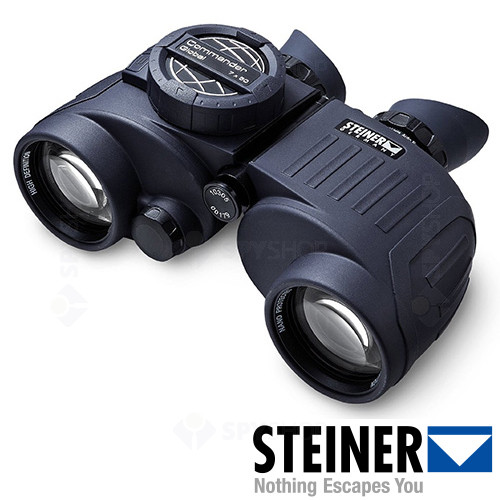 Binoclu Steiner Commander Global 7x50 cu compas