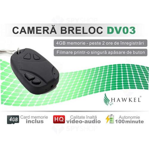 Microcamera mascata in telecomanda auto