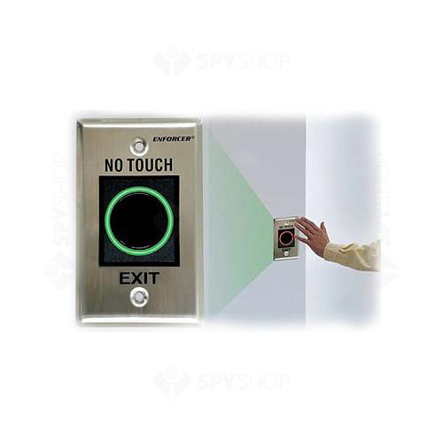 Buton cerere iesire fara atingere Seco-Larm SD 927PKC-NEQ, inox