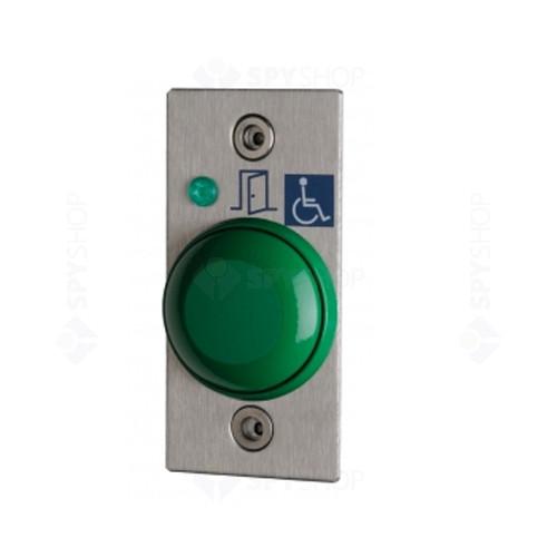 Buton cerere iesire + placa de inox CDVI BP/NO/NF/CHOC