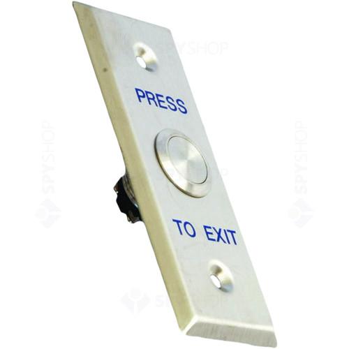 Buton cerere iesire Rosslare PB-040B, ingropat