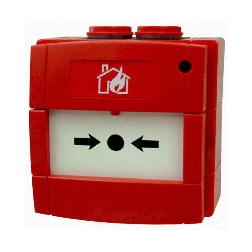 Buton de incendiu exterior Kac WCP3A-R000SG-01 IS