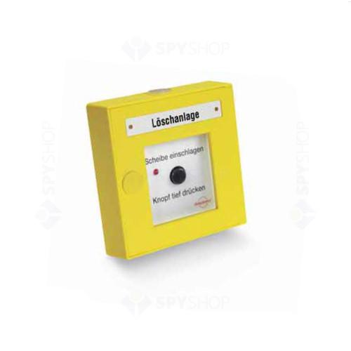 Buton de incendiu auto-adresabil Detectomat PL 3300 PBD-ABS-Y