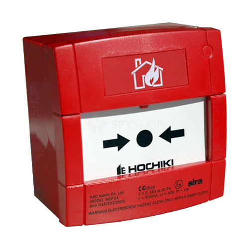 BUTON DE INCENDIU CONVENTIONAL ANTI-EX HOCHIKI CCP-E-IS