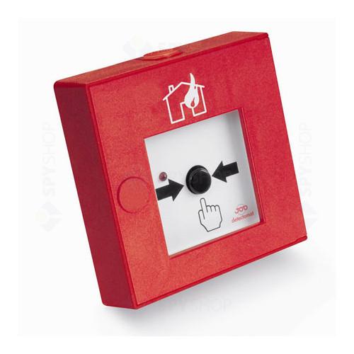 Buton de incendiu conventional Detectomat CT 3300 PBDH-ABS-R