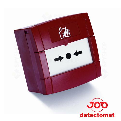 Buton de incendiu conventional Detectomat SBDH-ABS-R
