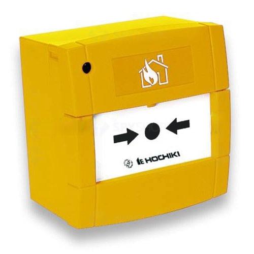 Buton de incendiu conventional Hochiki CCP-Y, IP24, ABS galben