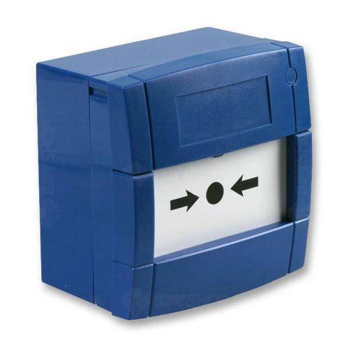Buton de incendiu KAC MCP3A-B000SG-STCK-12, aparent, albastru