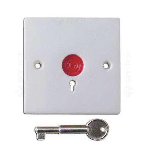 Buton de panica cu cheie si retinere PB-86