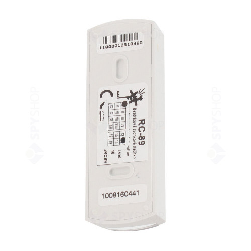 Buton de panica wireless Jablotron Oasis RC-89, 3 moduri de operare, protocol Oasis, IP41