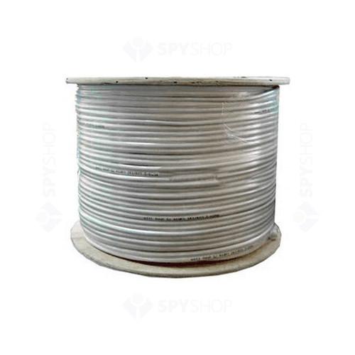 Cablu coaxial alb 75 OHM RG-6/U Cupru