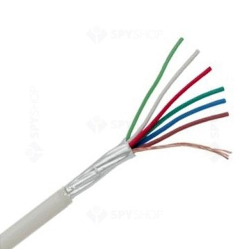 Cablu ecranat cu 6 fire pentru alarma 6D22