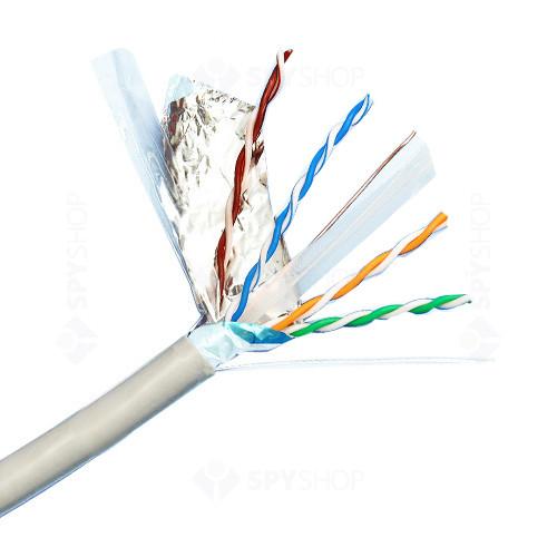 Cablu FTP Cat 6 antiefractie Elan FTP Cat6
