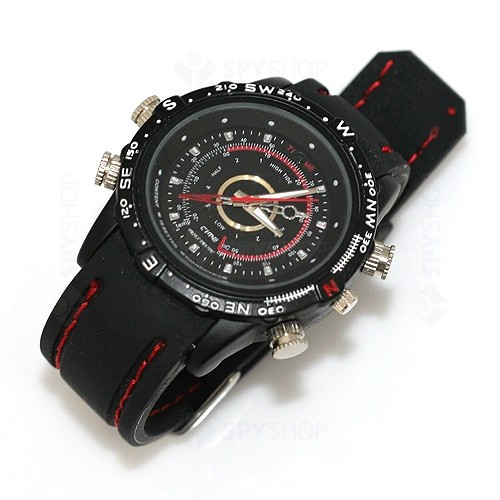 Ceas de mana cu camera video HD - Sport Edition