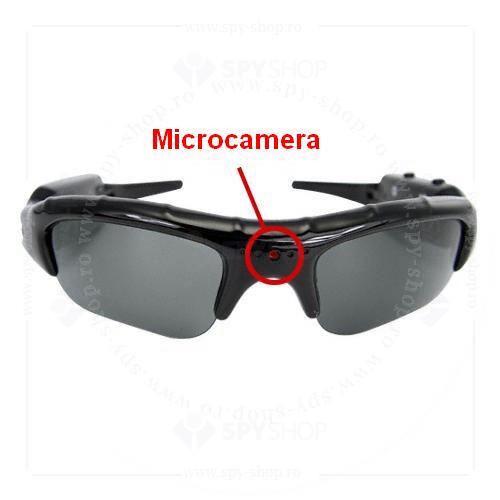 Camera ascunsa in ochelari de soare
