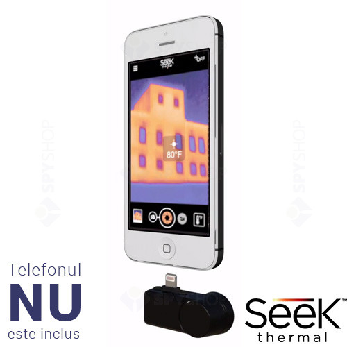 Camera cu termoviziune Seek Thermal iOS