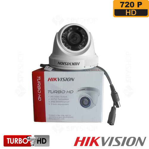 Camera de supraveghere dome TURBO HD Hikvision DS-2CE56C0T-IRP