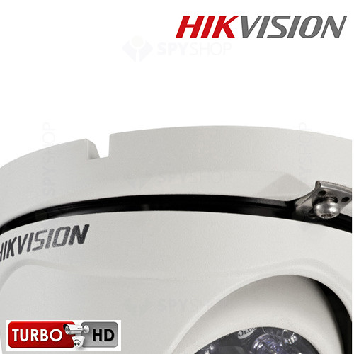 Camera de supraveghere exterior HD-TVI dome HIKVISION DS-2CE56C2T-IRM 2.8 mm