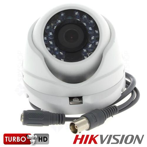 Camera de supraveghere interior HDTVI dome HIKVISION DS-2CE56D1T-IRM 2.8mm