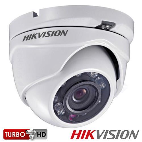 SISTEM SUPRAVEGHERE INTERIOR TURBOHD DOME CU 4 CAMERE VIDEO HIKVISION TVI-4EXT20-1080P