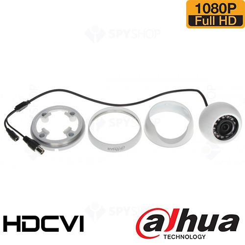 SISTEM SUPRAVEGHERE INTERIOR HDCVI CU 8 CAMERE VIDEO DAHUA CVI-8INT20-1080P